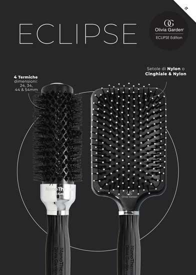 MOROCUTTI presenta ❤️ le spazzole per capelli ECLIPSE Edition by Olivia Garden