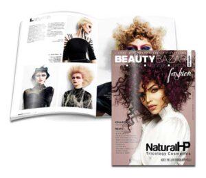 NATURAL HP ❤️ è sulla copertina di Beauty Bazar Fashion !