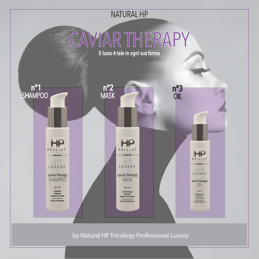 NATURAL HP LUXURY TRILOGY CAVIAR THERAPY