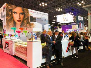 Eventi per parrucchieri: gli asciugacapelli PARLUX conquistano il pubblico dell'International Beauty Show 2018 di New York