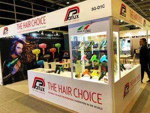 PARLUX: i migliori asciugacapelli  in mostra a Cosmoprof Asia 2019