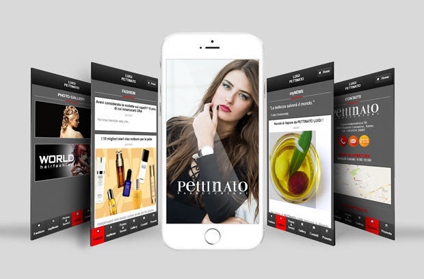 Nuova app Luigi Pettinato