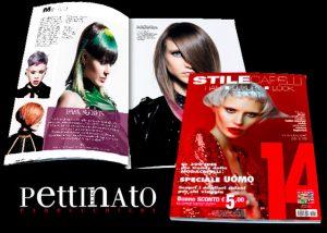 SALONE PETTINATO è stato pubblicato sulla prestigiosa rivista STILE CAPELLI come uno dei migliori parrucchieri in Italia