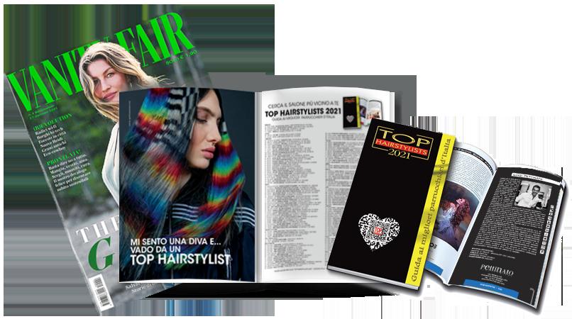 LUIGI PETTINATO è stato pubblicato sulla TOP HAIRSTYLISTS 2021 !