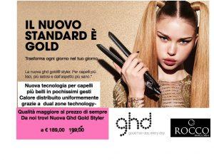 Nuova Ghd gold capelli più setosi e sani al prezzo di sempre