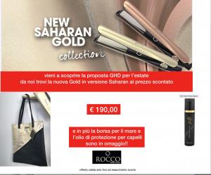 GHD SPECIAL EDITION SAHARAN  ti regala la super bag per l'estate e lo spray protettivo