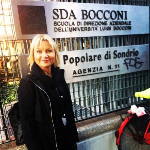 SALONE ALESSANDRA alla Bocconi per il master in Leadership per gli associati AHS