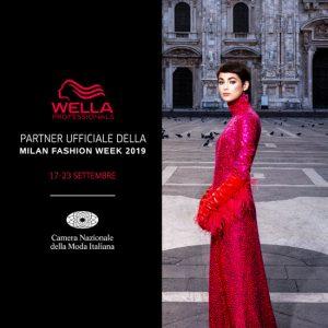 Carrer Alessandra per WELLA alla Milano Fashion Week 17-23 Settembre
