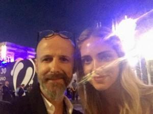 Novità per Parrucchieri: STEFANO CONTE con Chiara Ferragni al concerto di Radio Italia