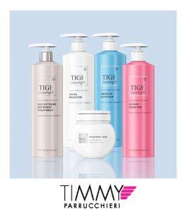 Da TIMMY PARRUCCHIERI trovi i trattamenti a marchio Tigi