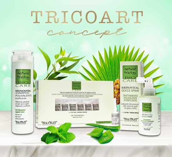 TRICOART presenta: KRINOVITAL per la salute ed il benessere dei tuoi capelli