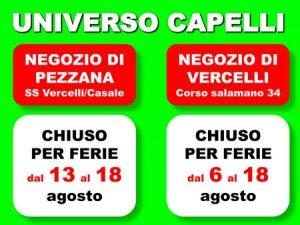 Novità per parrucchieri: UNIVERSO CAPELLI augura ai suoi clienti buone vacanze !