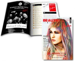 UNIVERSO CAPELLI è sulla copertina di BeautyBazar Fashion !