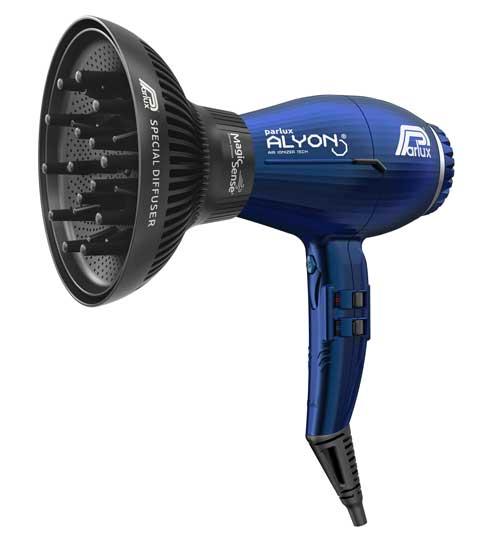 Novità dell'anno, il nuovissimo diffusore MagicSense® insieme al top degli asciugacapelli Parlux ALYON® ora nella versione Blu Notte